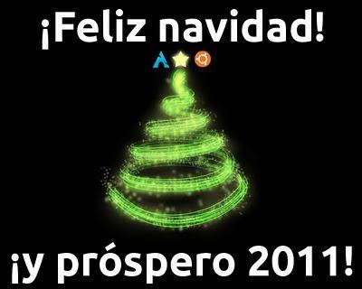 ¡Feliz navidad y próspero 2001!