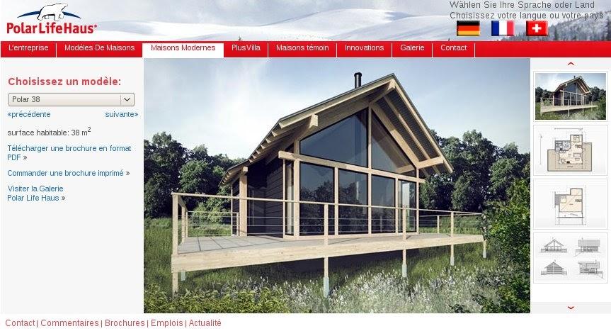 D coration de la maison constructeur maison bois massif for Constructeur maison allier
