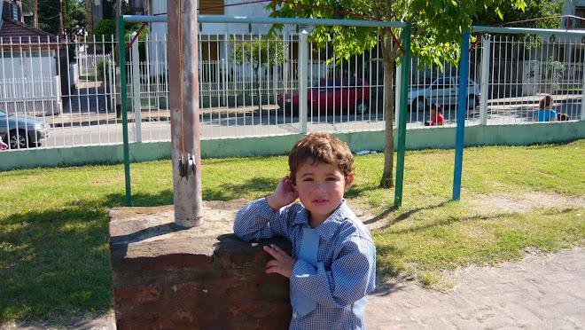 Mi nieto, IVÁN en el Jardín