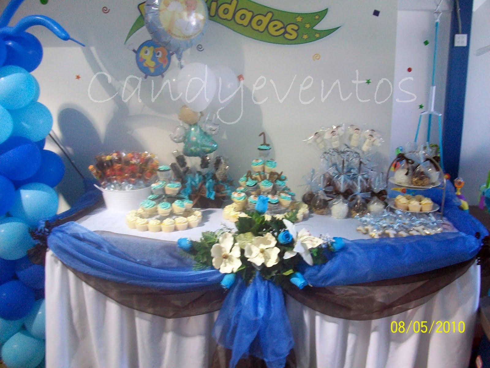 Bautizo decoracion mesa for Mesas para bautizo