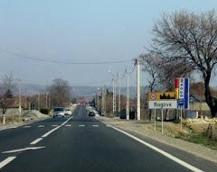 Intrarea in comuna Rogova