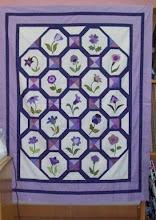 Colcha Encanto Floral - CLIQUE PARA VER OS BLOCOS