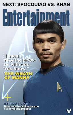 Manny Pacquiao as Spock