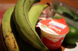 sütnivaló banán (ezt is lehet itt kapni ;), igen, ez már érett)