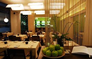 Segal étterem belső tér