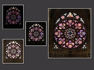 hdr suli prága szent vitus székesegyház rózsaablak