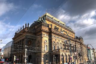 nemzeti színház hdr prága csehország
