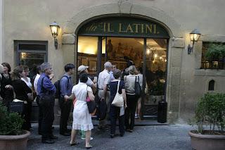 da il latini ristorante osteria trattoria firenze florence