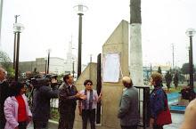 Homenaje a los caídos de la Carretera Central, Ate, Lima