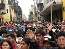 por reparación económica individual: organizaciones de víctimas de 14 regiones marchan en Lima