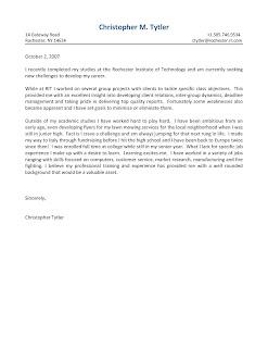 International Business Cover Letter International Business