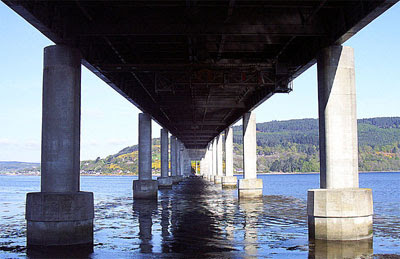 Kessock Bridge between Inverness and the north