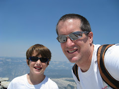 Zack and I at the top of Half Dome