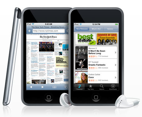 ipod touch 2g vs 3g. ipod touch 3g vs 4g.