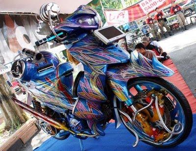 Suzuki Shogun 125cc Full Airbrush