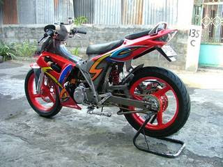 Image Shogun 125 Modifikasi