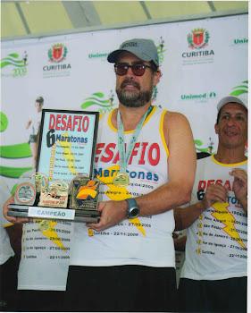 DESAFIO DAS 6 MARATONAS BRASILEIRAS - 2009