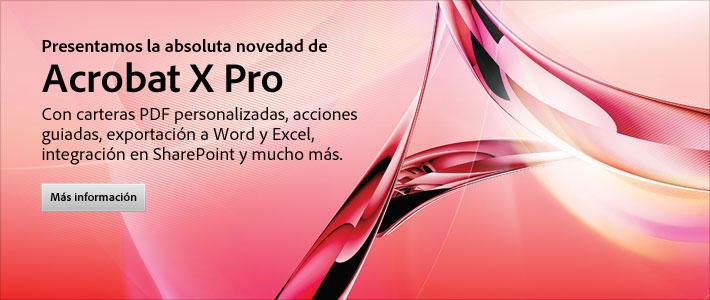Скачать торрент Adobe Acrobat X Pro (2010) PC.
