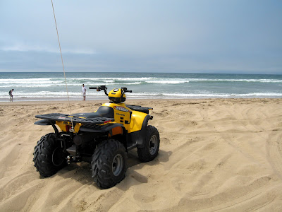 Pismo Beach Sand Dunes. Pismo Beach
