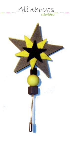 Alfinete estrela