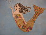 Mermaid Blowing Bubbles