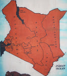 Map of Kenya/Bomas of Kenya