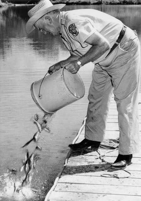 Joe herring jr new photos from the 1950s of life in for Game and fish commission