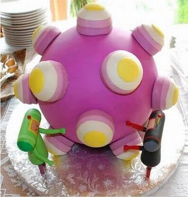 торта - Сватбената торта Funny+wedding+cakes+8
