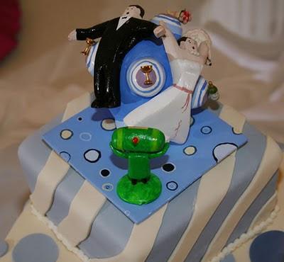 торта - Сватбената торта Funny+wedding+cakes+10