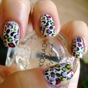 Animal+Print+Nail+Art+13 Modern Nails with animal print for 2011