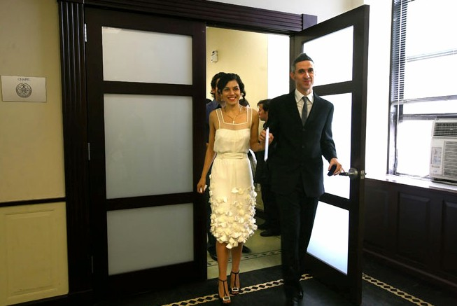 a city hall wedding my dads dream