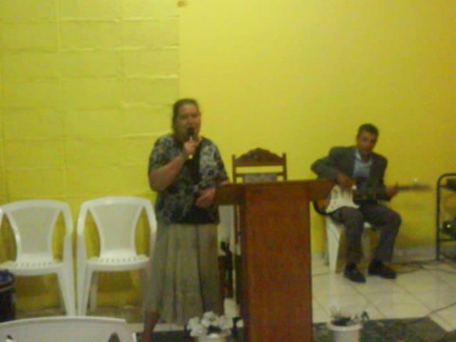 MISSIONÁRIA SANTINA, EM 1999, EU E A MINHA MÃE, FUNDAMOS A (I.P.M.D.A )HOJE ELA DESCANÇA NO SENHOR