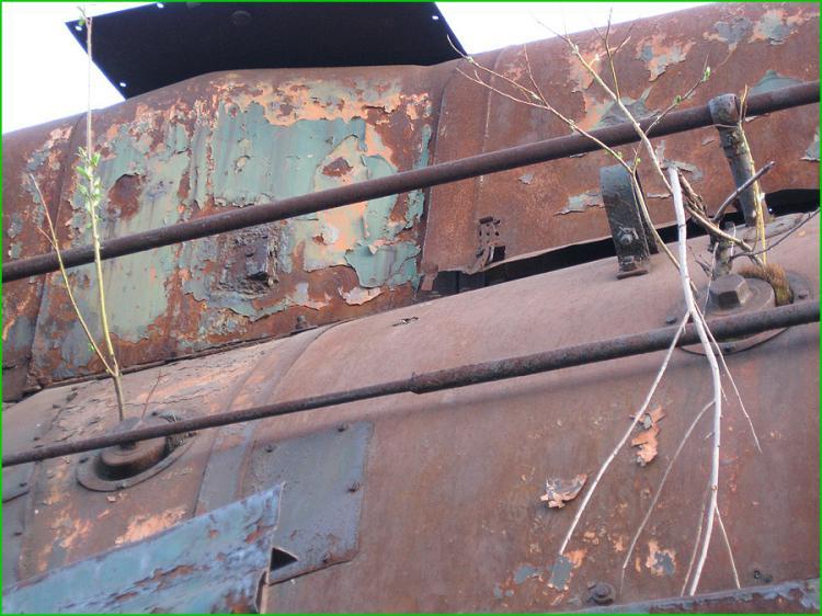 Moscu: trenes abandonados.