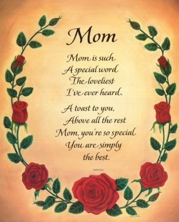 funny poems for mothers day. Mothers day poems or mothers