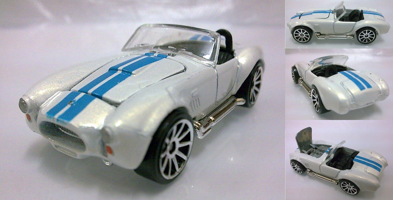 Hotwheels - Shelby Cobra White