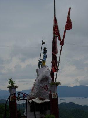 Posted Vibha Malhotra :  Baba Balak Nath, Hamirpur, Himachal Pradesh : A small Shiva temple ovelooking the Govind Sagar