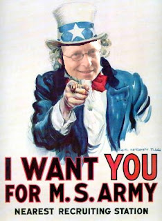 Bill Gates I Want You Army Propaganda Poster