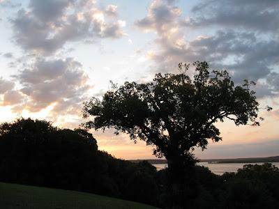 sunrise at Mount Vernon