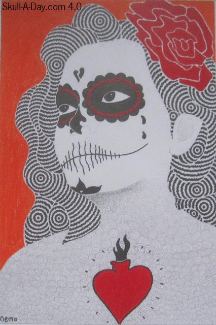 day of the dead girl pictures. day of the dead girl skull