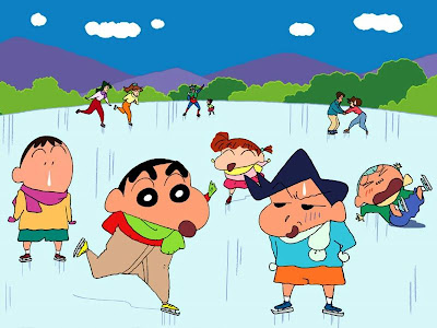 shinchan wallpapers. Crayon Shinchan Wallpaper