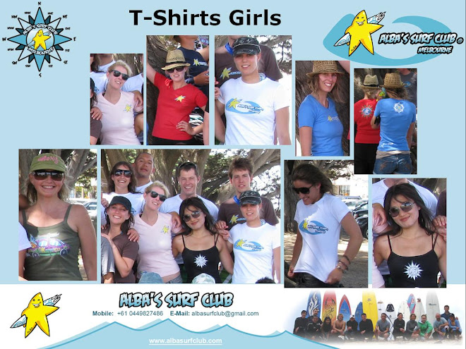 Alba's Surf Club Wear Girls