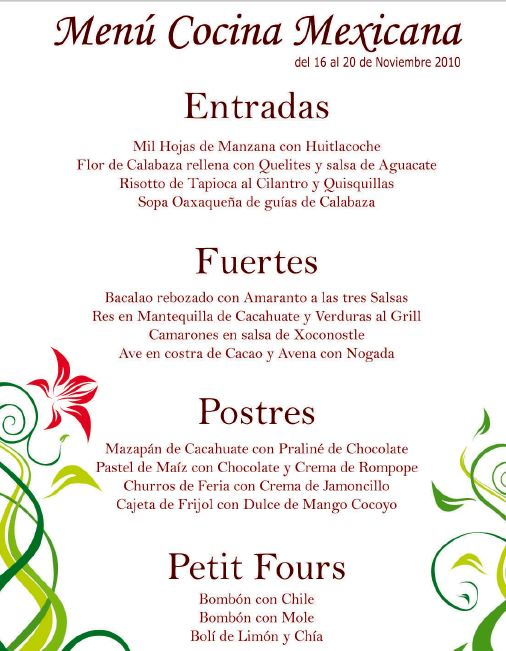 ver restaurante mexicano:
