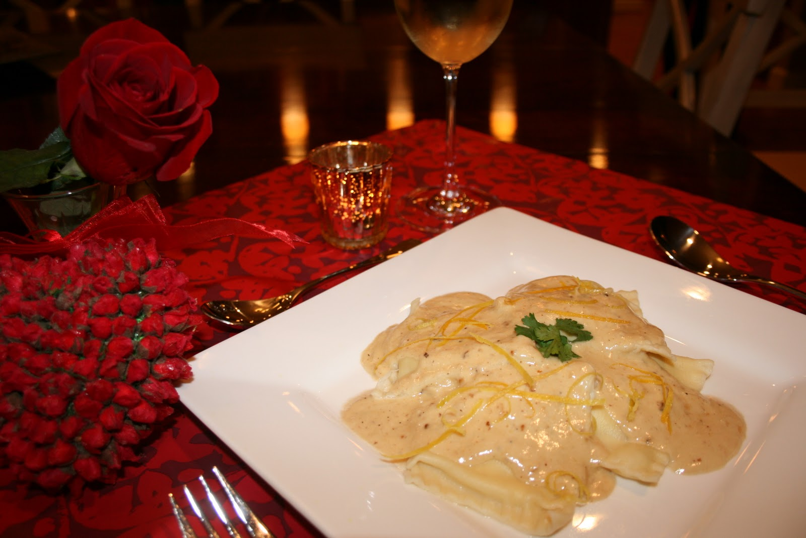 Lobster Ravioli with Lemon Cream Sauce – Dinner – Recipes | Karen Cromwell