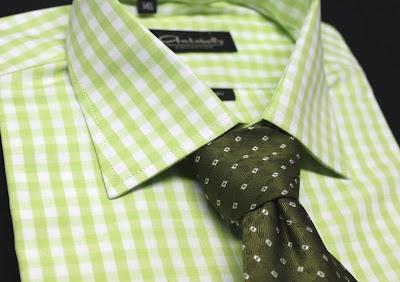 Camisa de Vestir Verde - Oferta