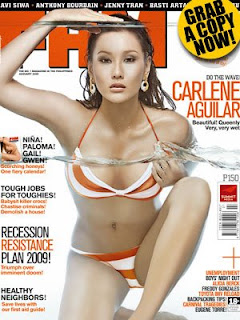 Carlene Aguilar January 2009 FHM Cover Girl