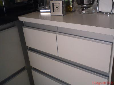 Formrio arm rio cozinha em mdf formica e perfil em aluminio - Perfiles de aluminio para armarios ...