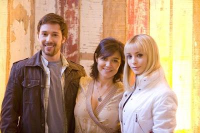 Caetano O'Maihlan, Elisabetta Zanetti e Rosana Mulholland - foto de Renato Stockler - Divulgação BAND