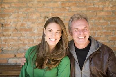 Elaine Mickely e Henrique Pagnoncelli em Água na Boca - Divulgação BAND