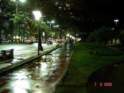 Ciclovia e avenida Bartolomeu de Gusmão - Foto de EMILIO PECHINI em 07/08/2008