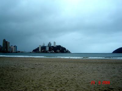 Ilha Porchat, vista da Baía de São Vicente - Foto de EMILIO PECHINI